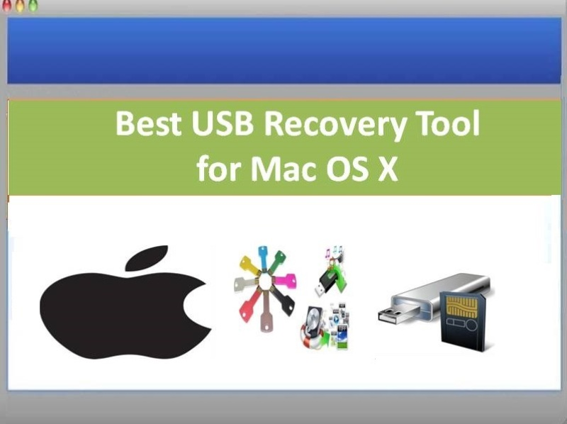 Tool to recover files from usb drive on Mac