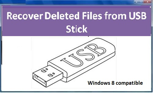 Software to undelete Files from USB Stick