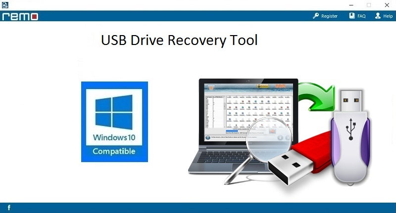 USB Drive Recovery Tool full screenshot